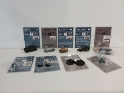 """Axis & Allies D-Day 11 Miniatures Commom/Uncommom/Rare New Unplayed """"B"""""""