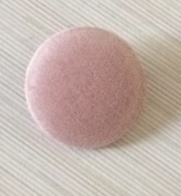 Pink Velvet Fabric Buttons, 10mm 16mm 18mm 20mm 25mm 31mm 37mm Small & Large
