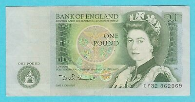 Bank of England ONE POUND NOTE £1 Somerset =ONE ONLY=