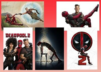 Marvel Comics DEADPOOL 2 , CABLE, DOMINO Movie & Promo Poster/ Posters A3 A4 A5