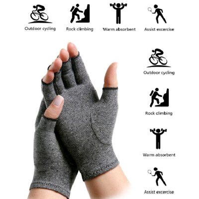 Arthritis Gloves Therapy Compression Hand Arthritis Joint Pain Relief Symptom