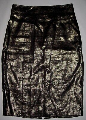 Harry Who metallic skirt size 12 pre-owned