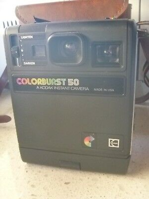 Vintage Kodak ColorBurst 50 Polaroid Camera 1979-1982 Colour Burst  USA .