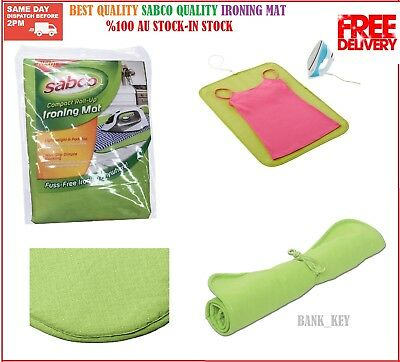 Best Quality  Ironing Mat Cover Compact  Portable Travel Non Slip Iron Anywhere