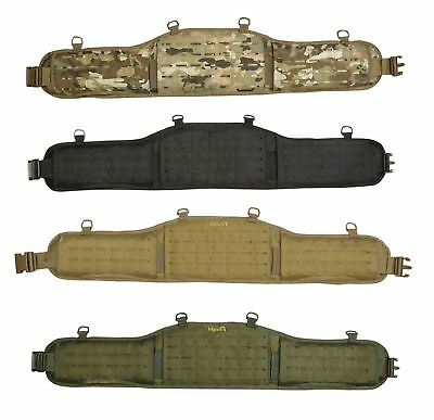 Viper Tactical Lazer Combat Molle Waist Belt Padded Police Webbing Carrier
