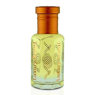 Royal Saffron Amber Oud Perfume Oil 3ml Premium Quality Attar by Luxury Scent