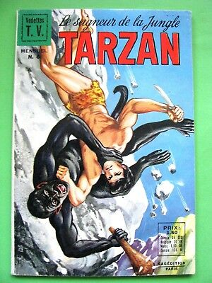 Sagedition TARZAN / N° 6 / VEDETTE TV 1968