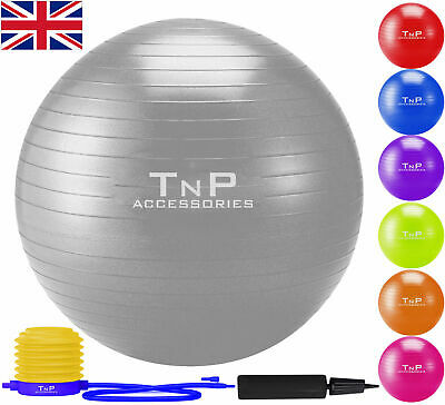 Exercise Gym Yoga Swiss Ball Fitness Pregnancy Birthing Anti Burst Core Balls