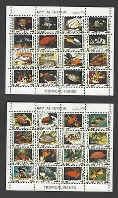 Briefmarken Fische Stamps Tropical Fishes
