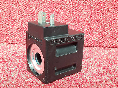 Vickers Hydraulic Solenoid Coil 24VDC 02-178087 *