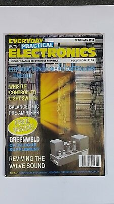 Everyday With Practical Electronics (Mixed collection of 3 magazines)
