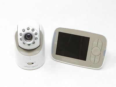 Infant Optics DXR-8 Video Baby Monitor with Interchangeable Optic Lens White