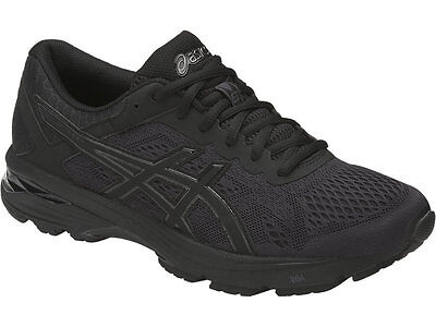 7e8ffd9f1dac ASICS GT-1000 6 Men s T7A4N.9090 Black Silver Running Shoes -  89.95 ...