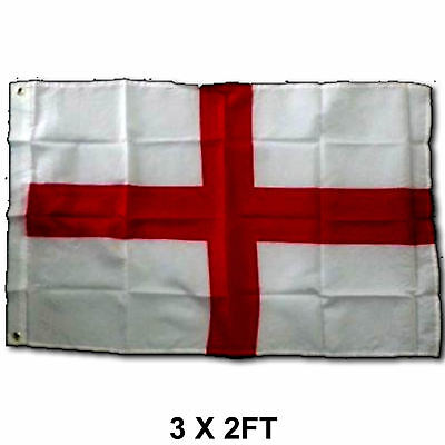 3ft x 2ft ST George Cross English Flag 3' x 2' ft England NEW Fly the Flags