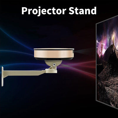 360 Degree Rotation Support Theater Beige Projector Stand Steel