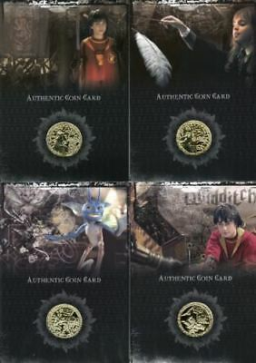 Harry Potter 2006 San Diego Comic Con Gold Prop Card HP Set CC1 CC8