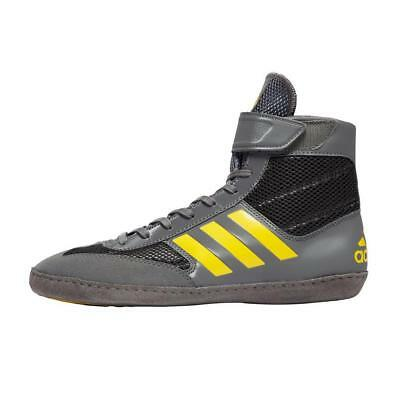 adidas Combat Speed 5 Mens Boxing Boots Fitness Shoes Black/Grey Black/Grey