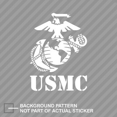 USMC EGA Sticker Die Cut Decal marines marine corps earth globe anchor