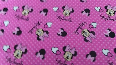 100/% cotton tinklerbell fabric  22x18ins fat quarters now reduced