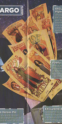 FREFLY poster set (9) Serenity loot crate #13 sealed