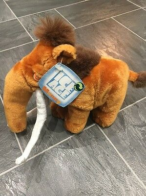 Manny The Mammoth Ice Age Plush New With Tag