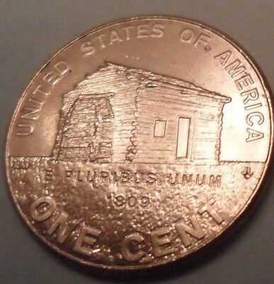 2009 D Lincoln Log Cabin Cent / Penny   **free Shipping**
