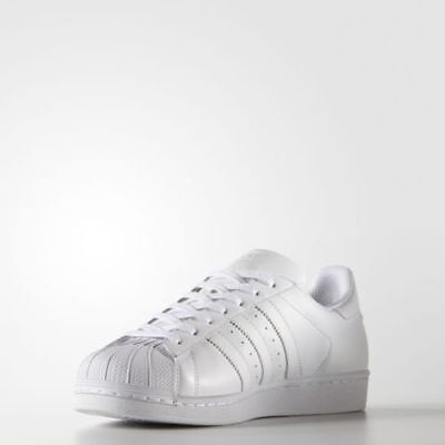 New Adidas Mens Originals Superstar Foundation White/white B27136
