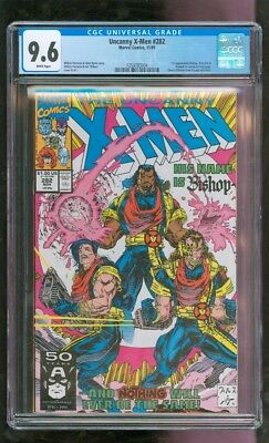 Cgc 9.6 Uncanny X-Men #282 Marvel Comics 11/1991 1St Appearance Of Bishop Wow!!!