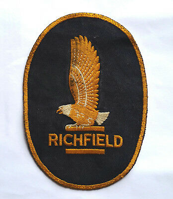 RARE vintage pre - ARCO Richfield oil gas station patch LARGE sz for coveralls