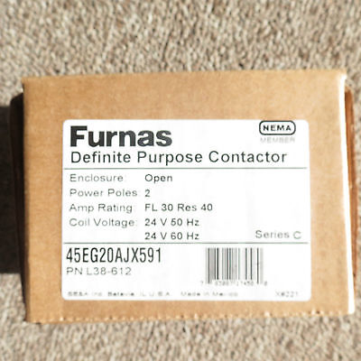 Furnas 45EG20AJ Definite Purpose Contactor FREE SHIPPING