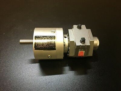 Dayton Speedaire Gast 4Z412 Air Motor with 15:1 Gear Reduction NEW