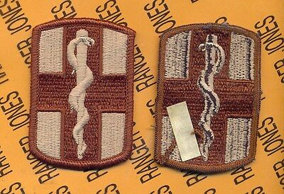 US Army 1st Medical Brigade Desert DCU uniform patch