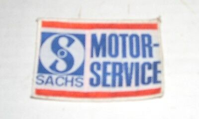 Sachs  Moped Service Arm Patch  Eagle Clinton Columbia Ams Foxi Flying Dutchman
