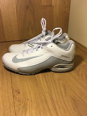 4781f153e58e5 Nike Speedlax 5 Lacrosse Turf Shoes Women's White/Silver Size 11.5  807157-100