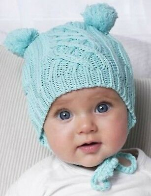 Oobi Cable Knit Beanie- New in box. Size 1-2 years