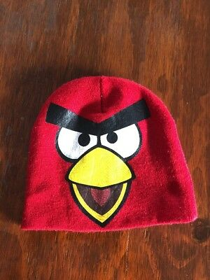 Angry Birds Beenie Unisex Boy Or Girl. One Size