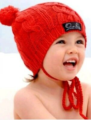 Oobi Cable Knit Beanie- New in box. Size 0-1 years