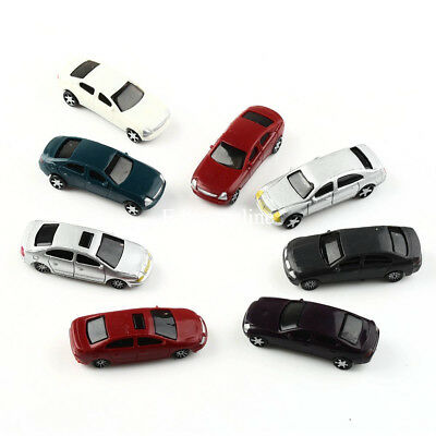 50pcs/Lots New Mixed C100 Model Car 1:87~1:100 Building Train Scenery HO