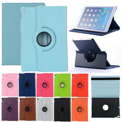 """360 Rotating Folio Case Stand Auto Smart Cover For Apple iPad 9.7"""" 2018 6th Gen"""
