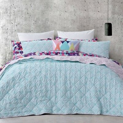 NEW Mode Zahara Quilted Coverlet By Spotlight