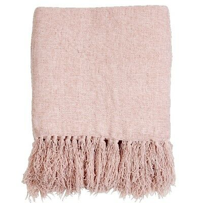 NEW Living Space Chenille Throw By Spotlight