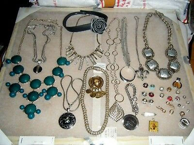 Mixed Variety LOT of Vintage.retro  JEWELRY.braclets.necklaces.charms