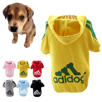 Pet Dog Cat Puppy Sweater Hoodie Coat For Small Pet Dog Warm Costume Apparel New
