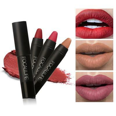 FOCALLURE 19 Colors Lipstick Matte Lipsticker Waterproof Long-lasting Cosmetic