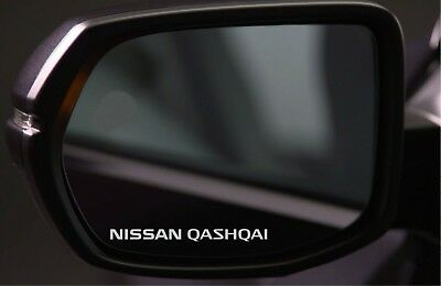 4x Wing Mirror Stickers Fits Nissan Qashqai Graphics Premium Quality PD58