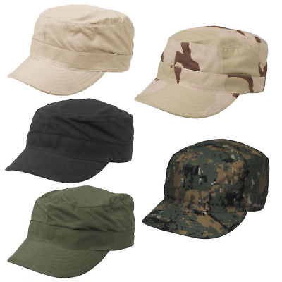 BDU Patrol Combat Army Ripstop Military Baseball Field Cap Hat Unisex Adjustable