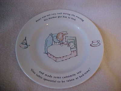 "1991 Wedgwood 7"" Plate THE WORLD OF BEATRIX POTTER~PETER RABBIT~Frederick Warne"