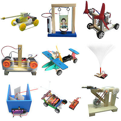 Kids DIY Assembled Science Technology Experiment Educational Model Boy Girl Toys