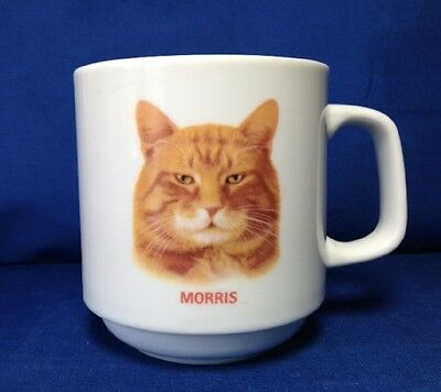 MORRIS THE CAT COFFEE MUG, 11 oz. CUP, PAPEL
