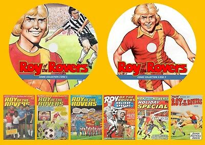 Roy Of The Rovers Comics Collection 3 On Two DVD Rom's